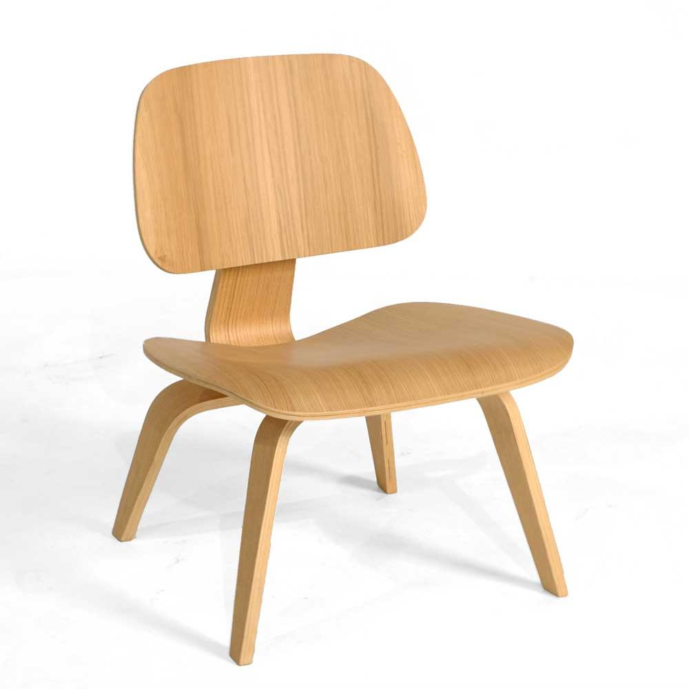 Charles and Ray Eames, by bending plywood, started a