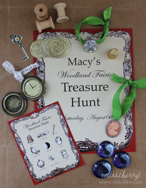 Nikkiikkin fairy treasure hunt