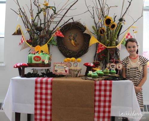 Macy's Woodland Fairy Dessert Table
