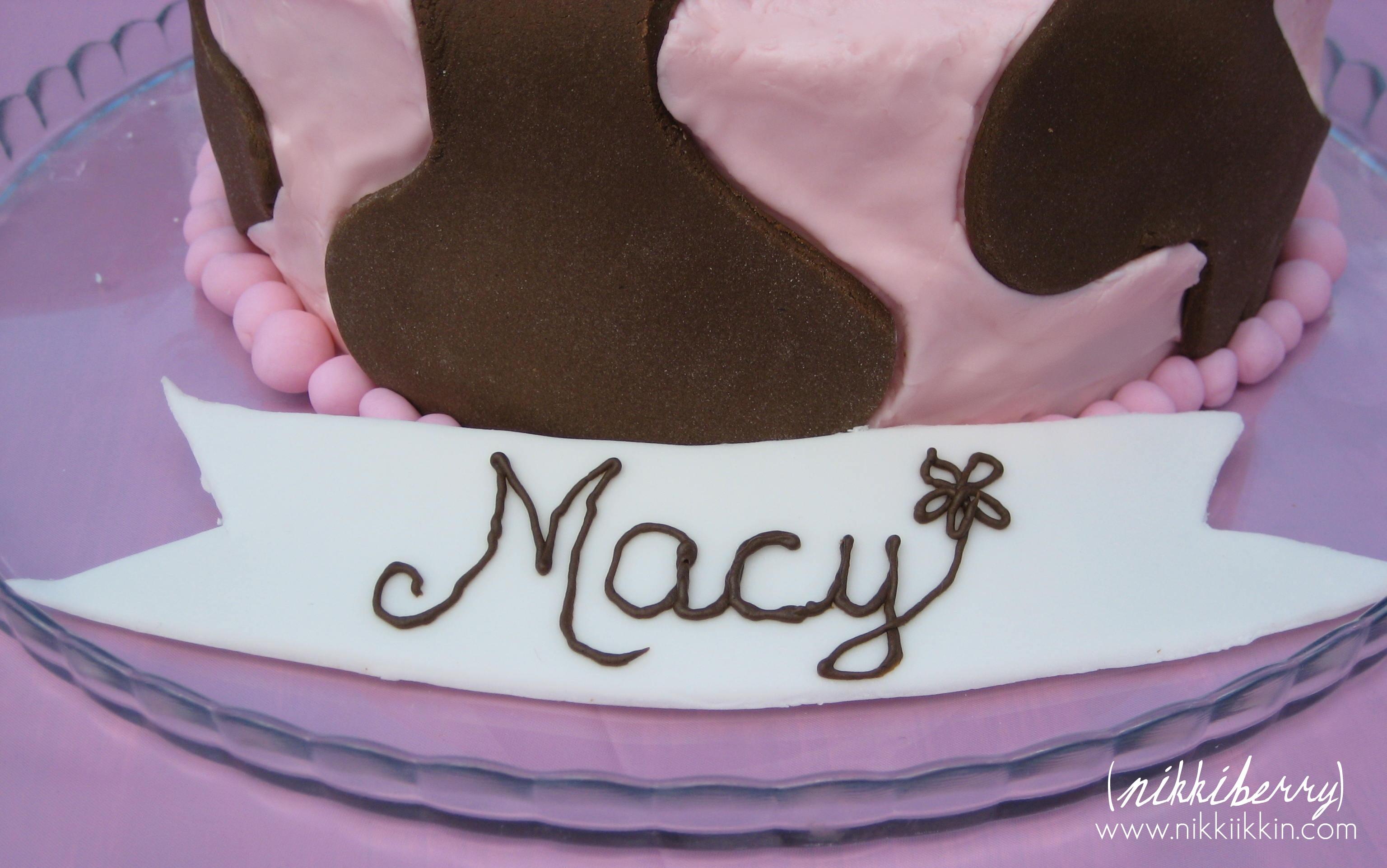 Swell Manhattan Cowgirl Birthday Party Personalised Birthday Cards Bromeletsinfo