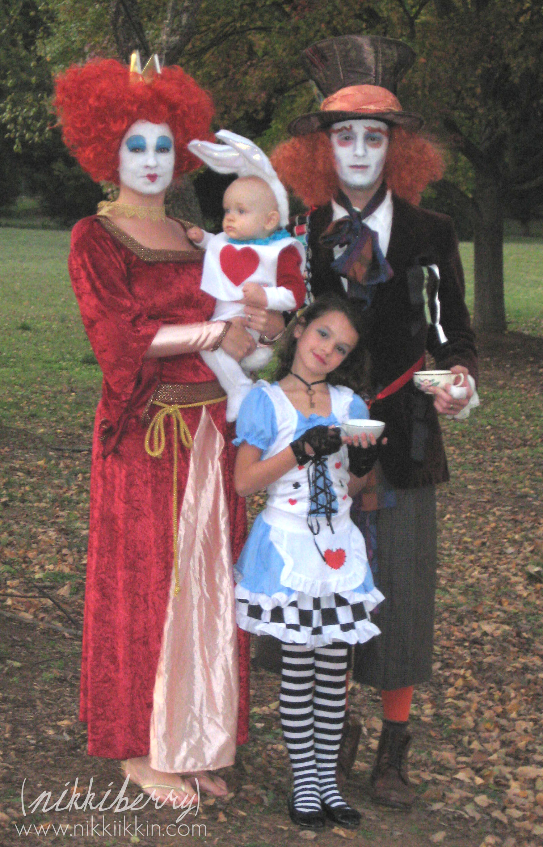 alice and wonderland family