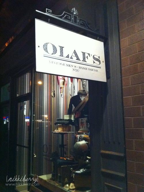 Olafs Men's Vintage