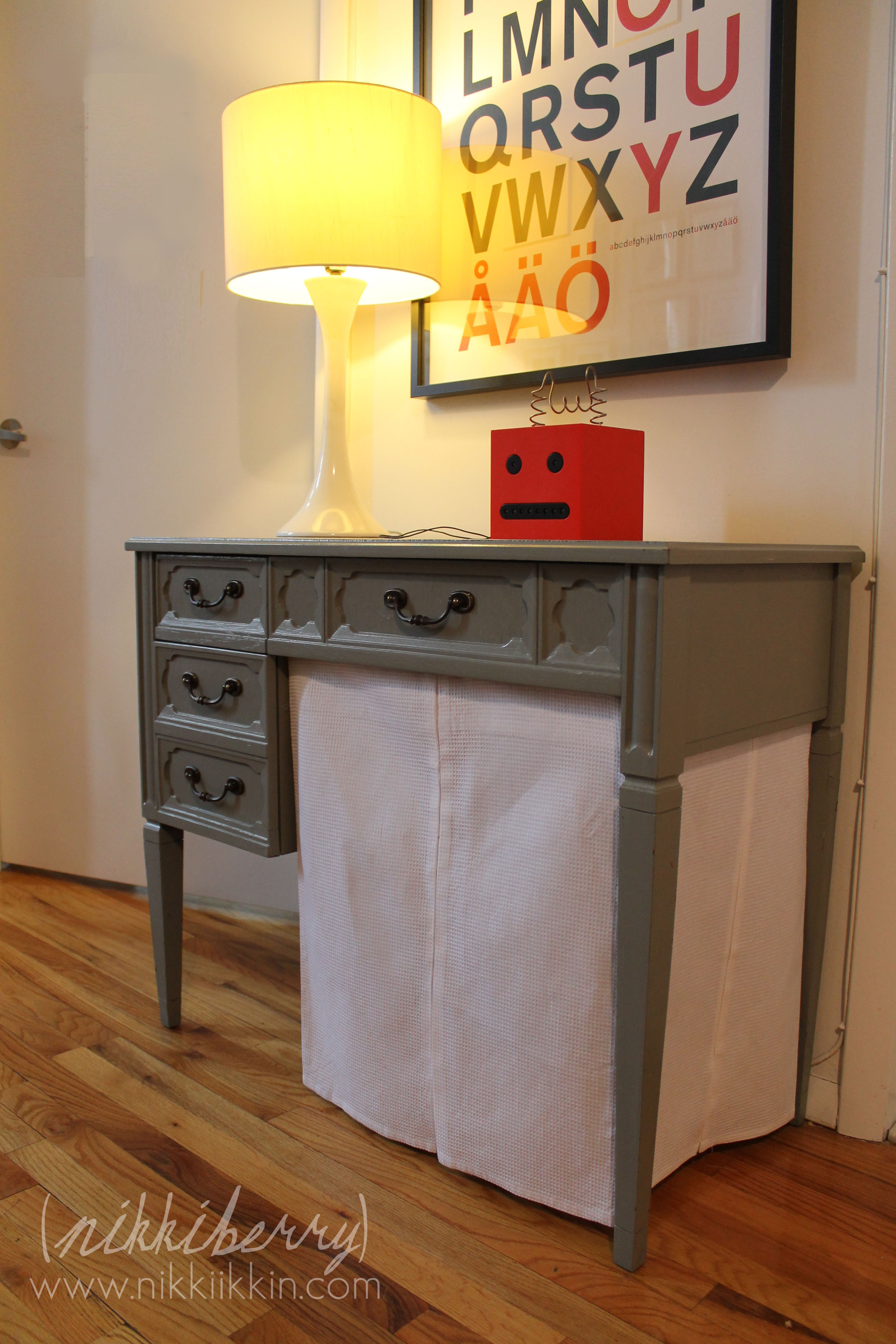 sewing table building instructions