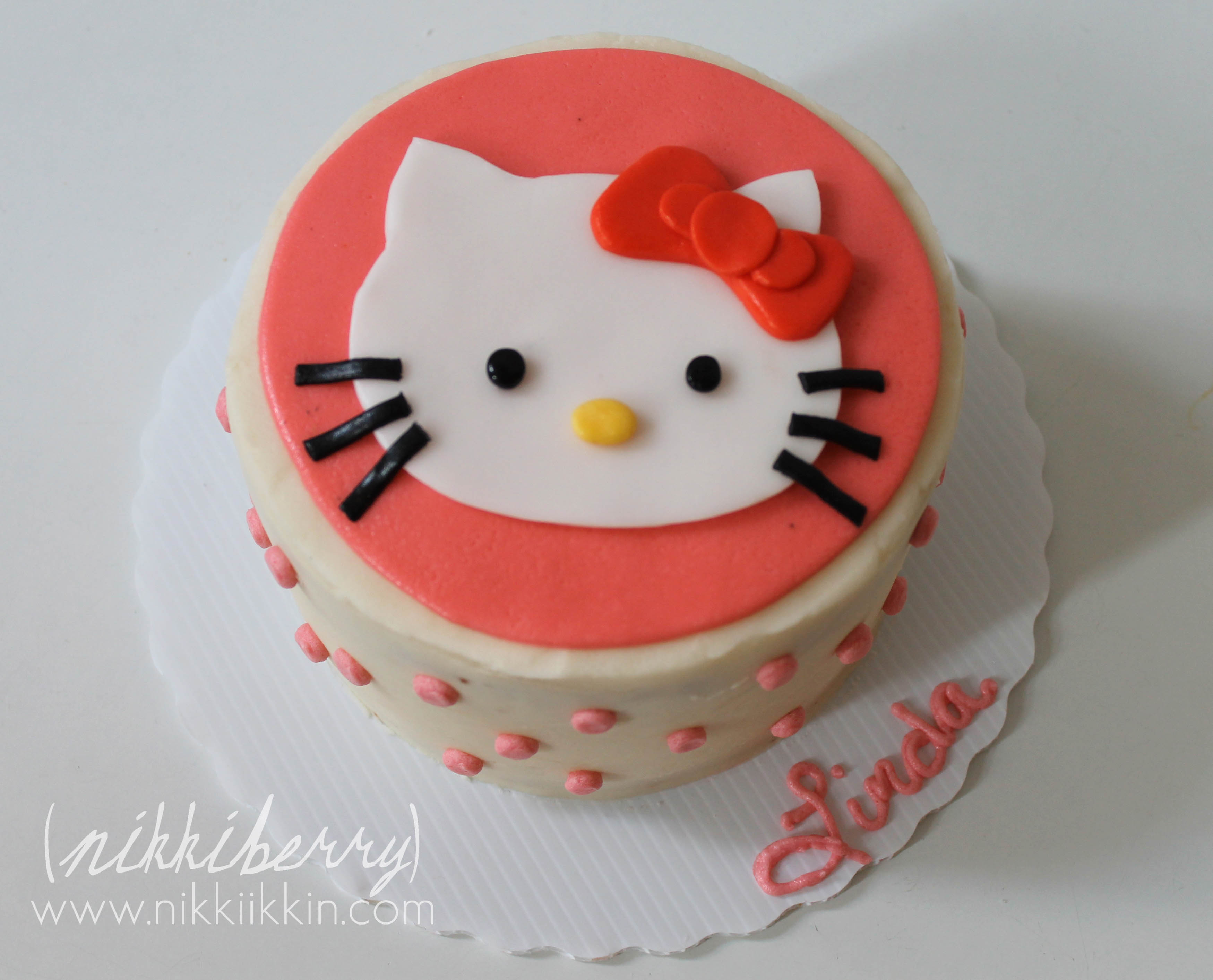 hello kitty cake hello kitty cake 4781