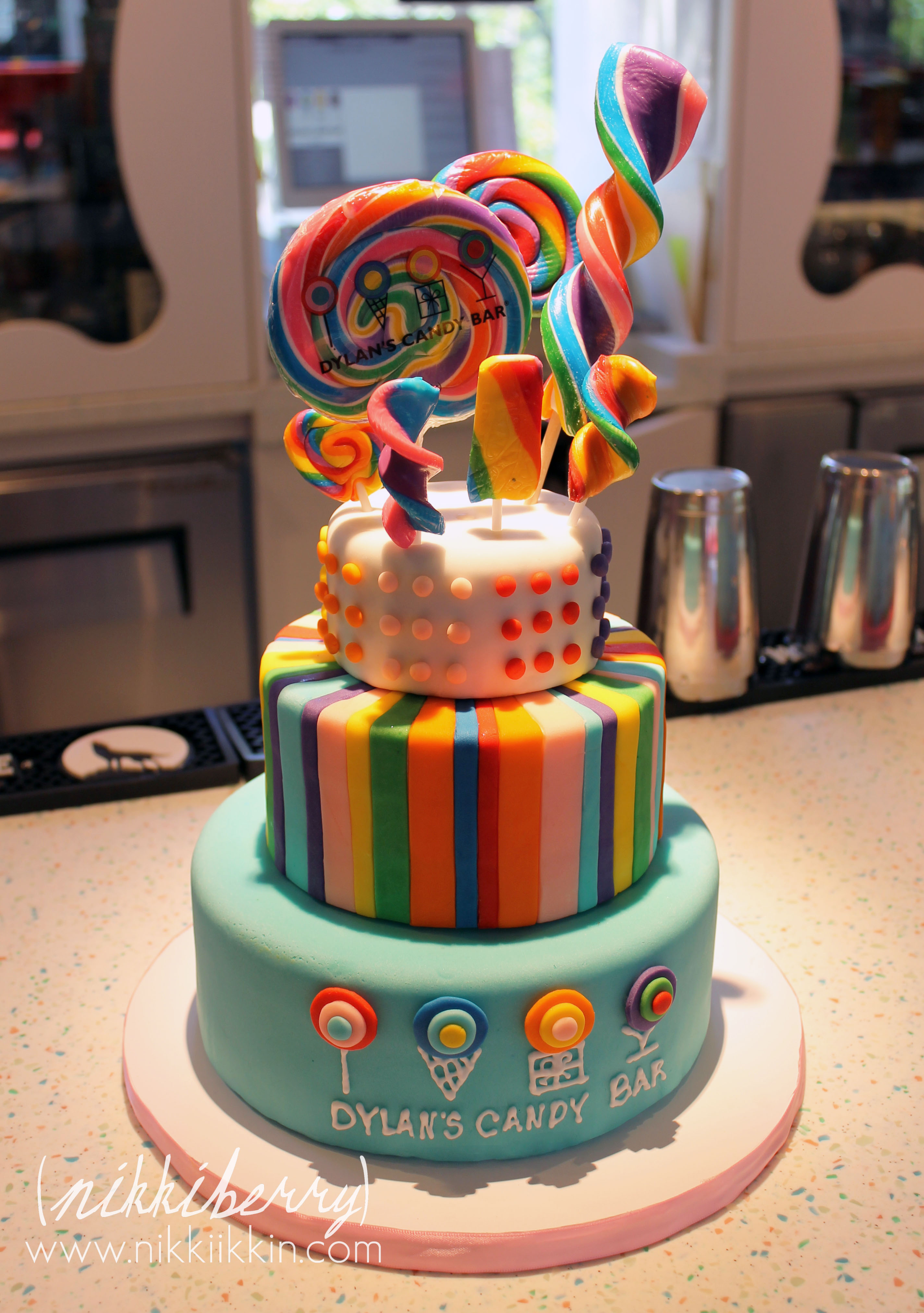 Candy Cake By Nikki Berry