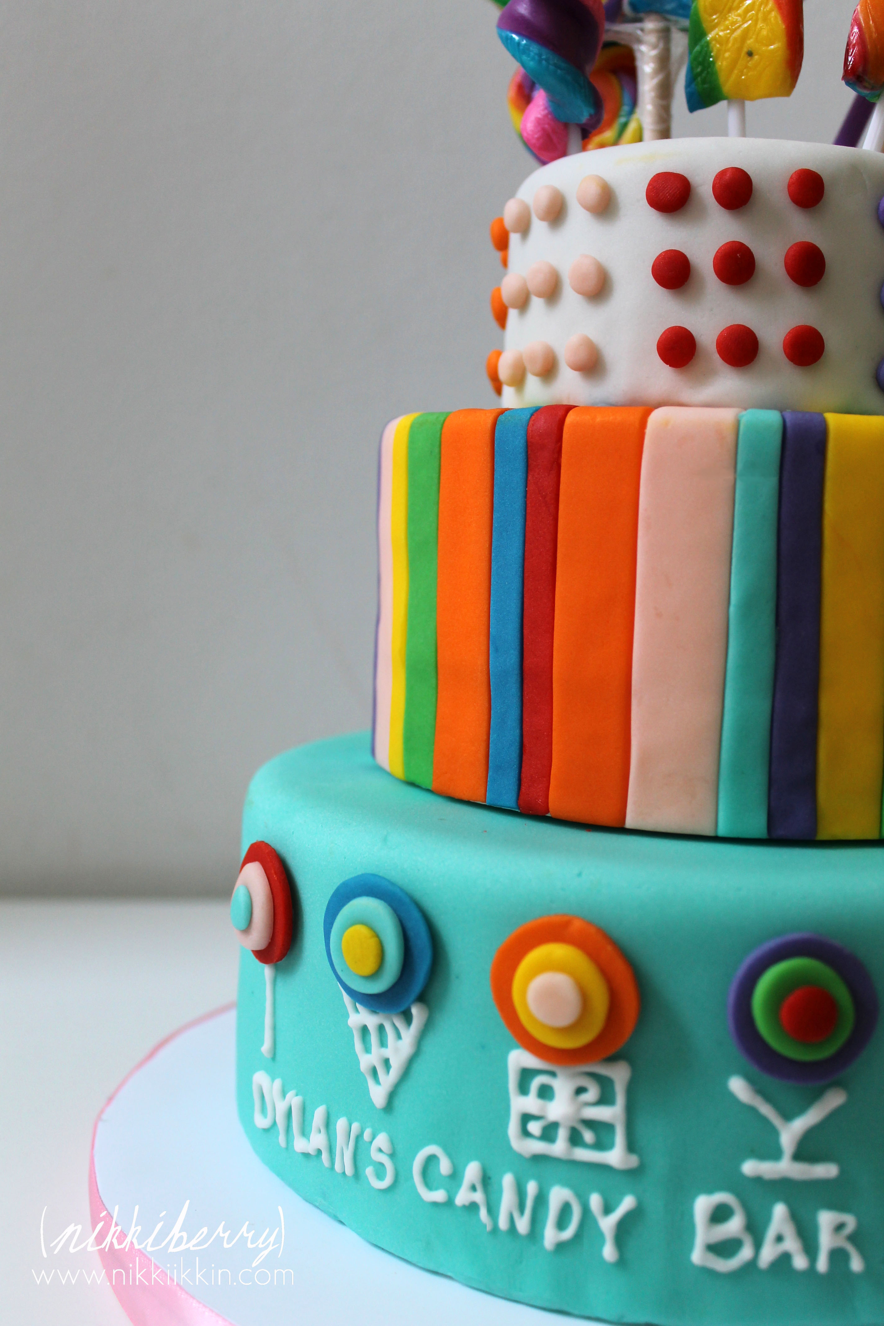 Candy K Whatlucyloves: Lollipop Cake