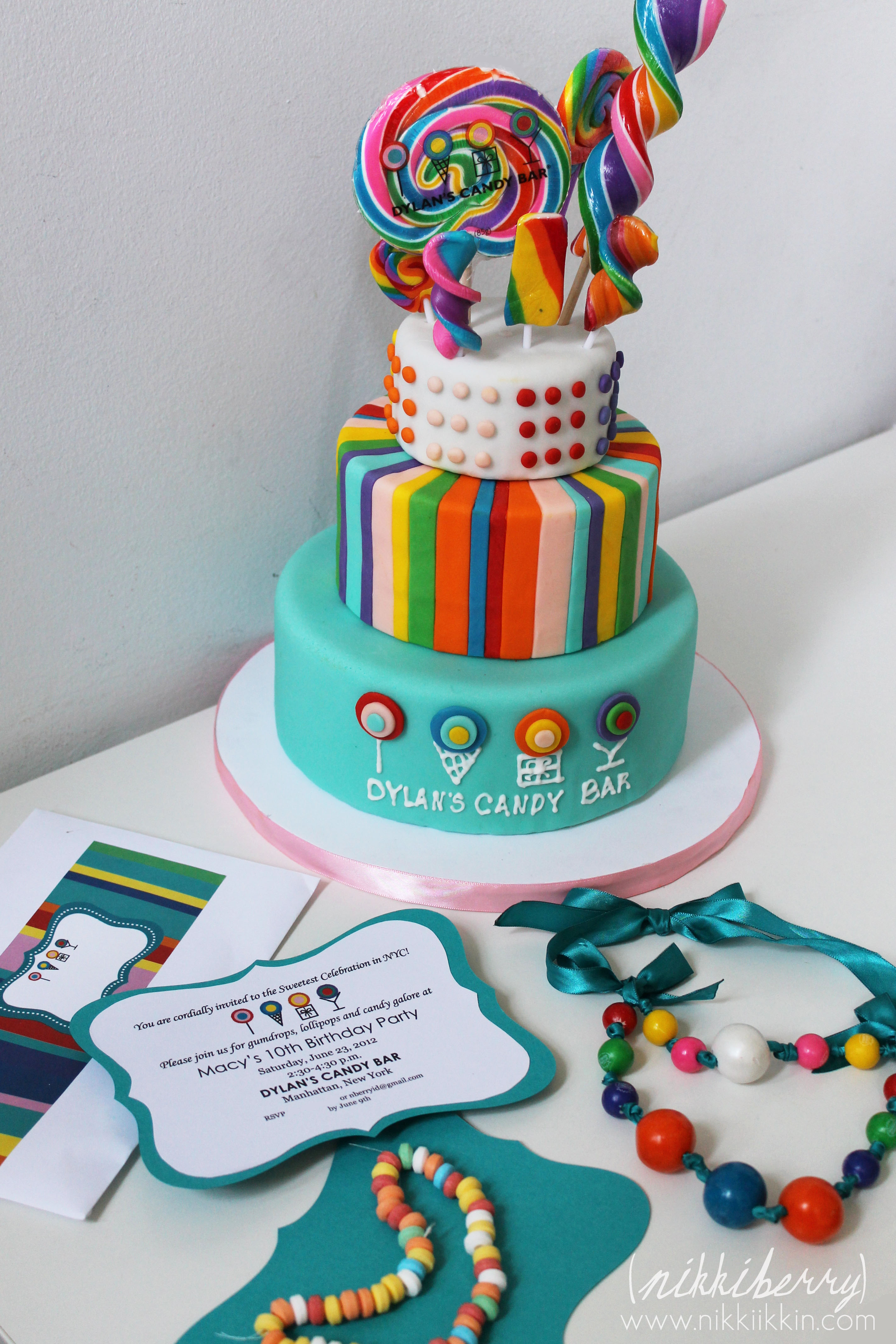 Brilliant Candy Party Cake And Invitations Funny Birthday Cards Online Bapapcheapnameinfo