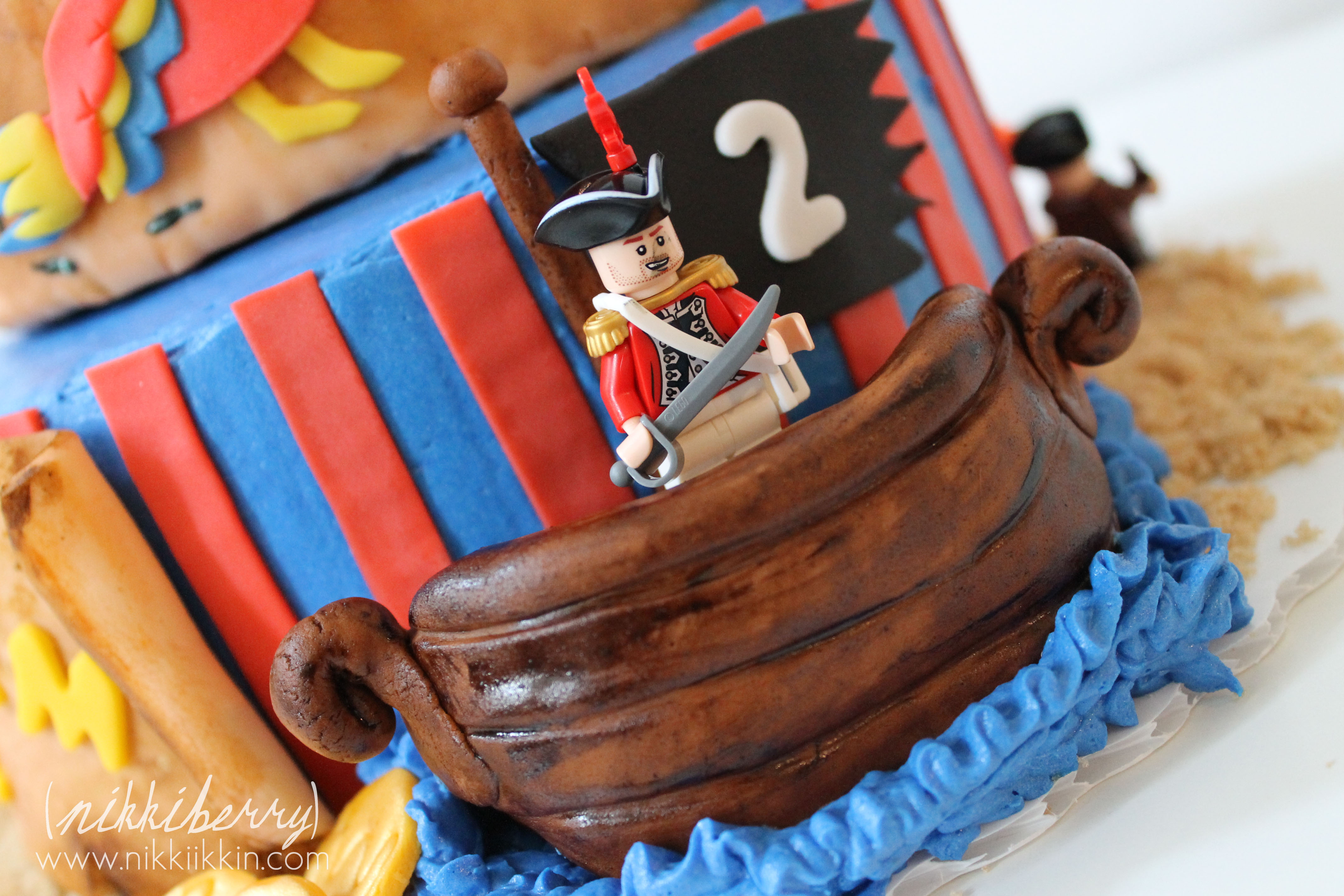 how to make a fondant pirate