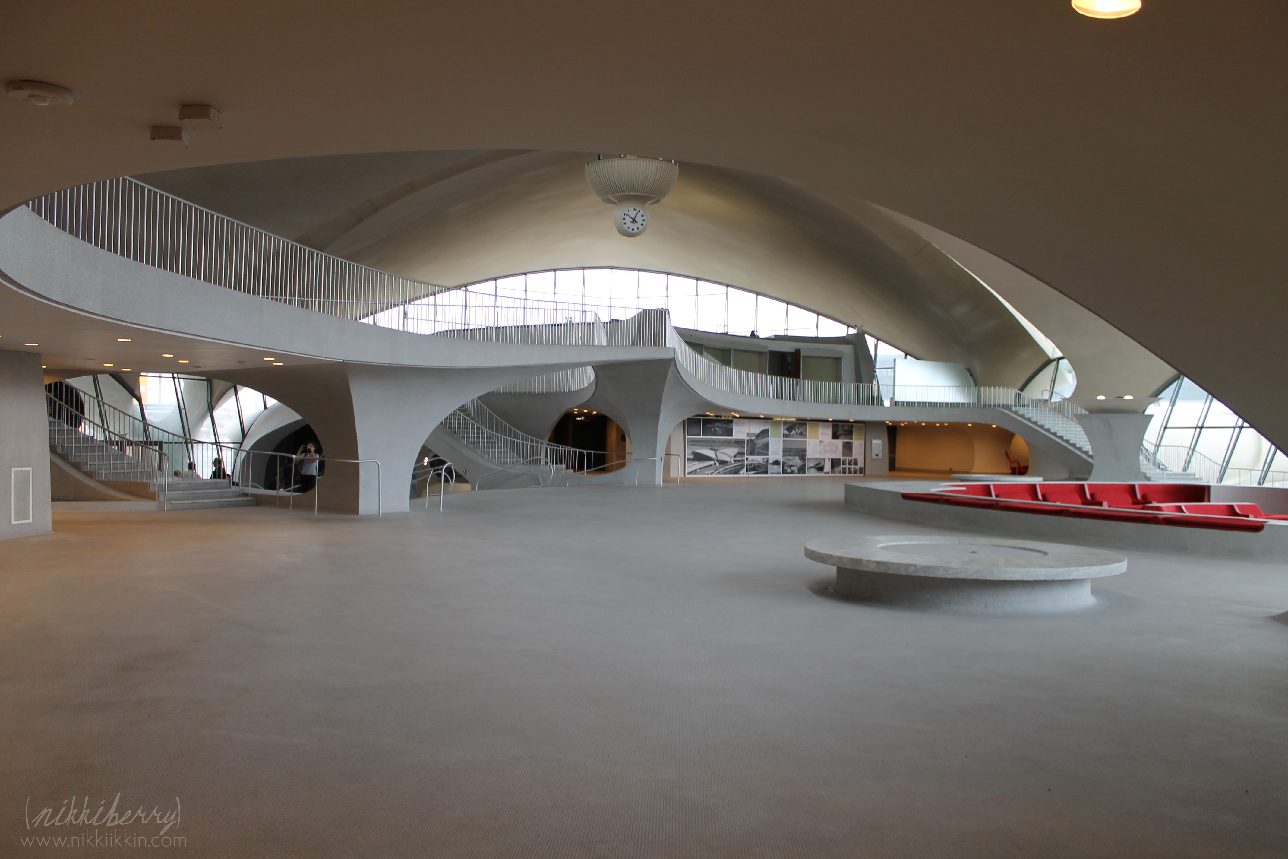 a tour of the historic twa flight center