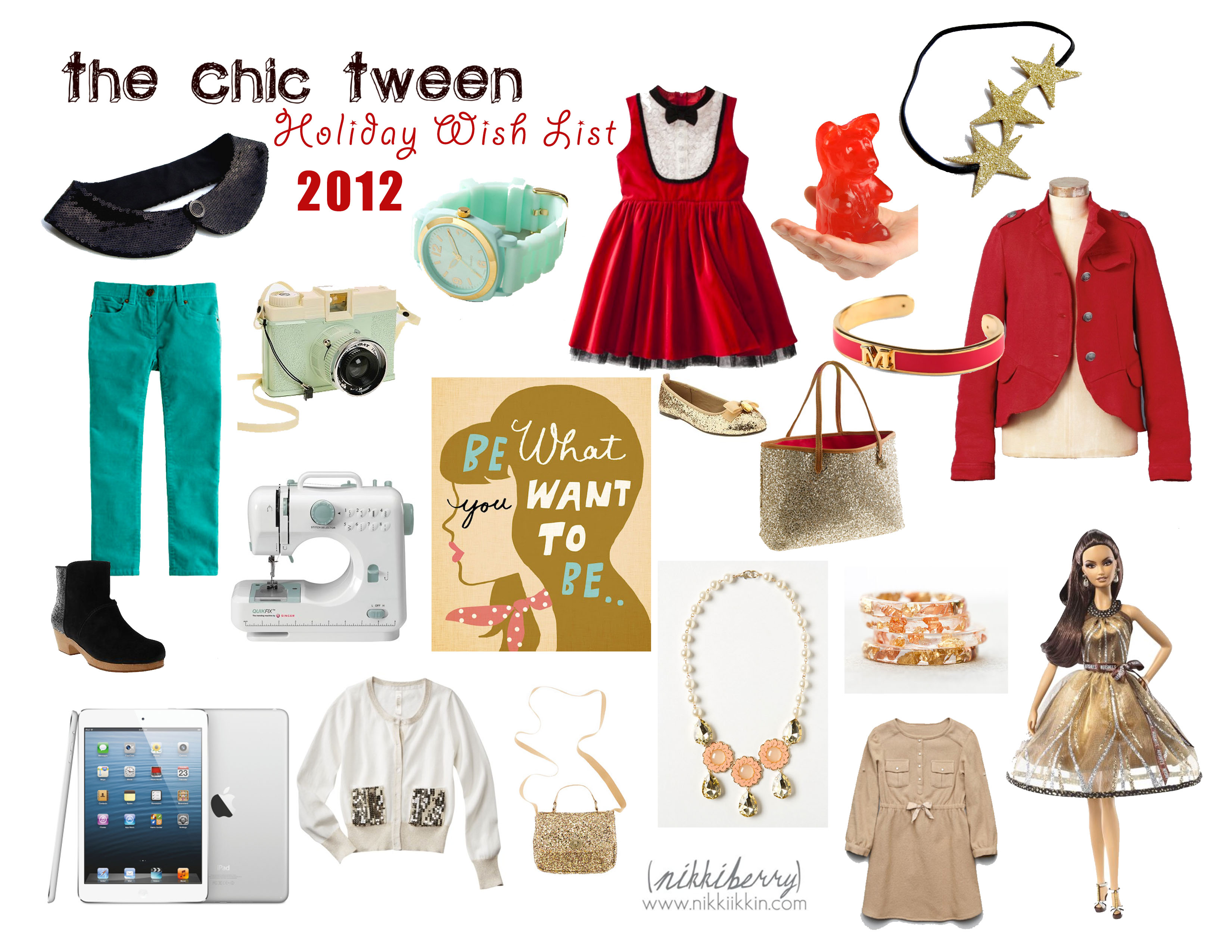 The Chic Tween {Holiday Wish List 2012} |
