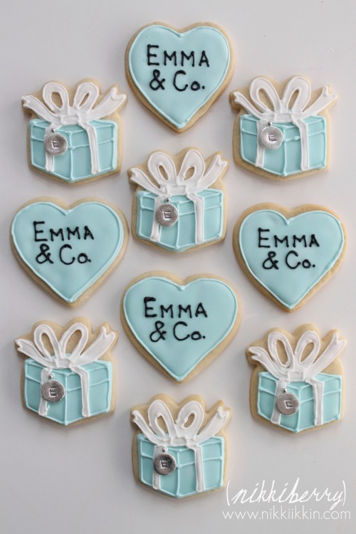 Tiffany and Co. Cookies