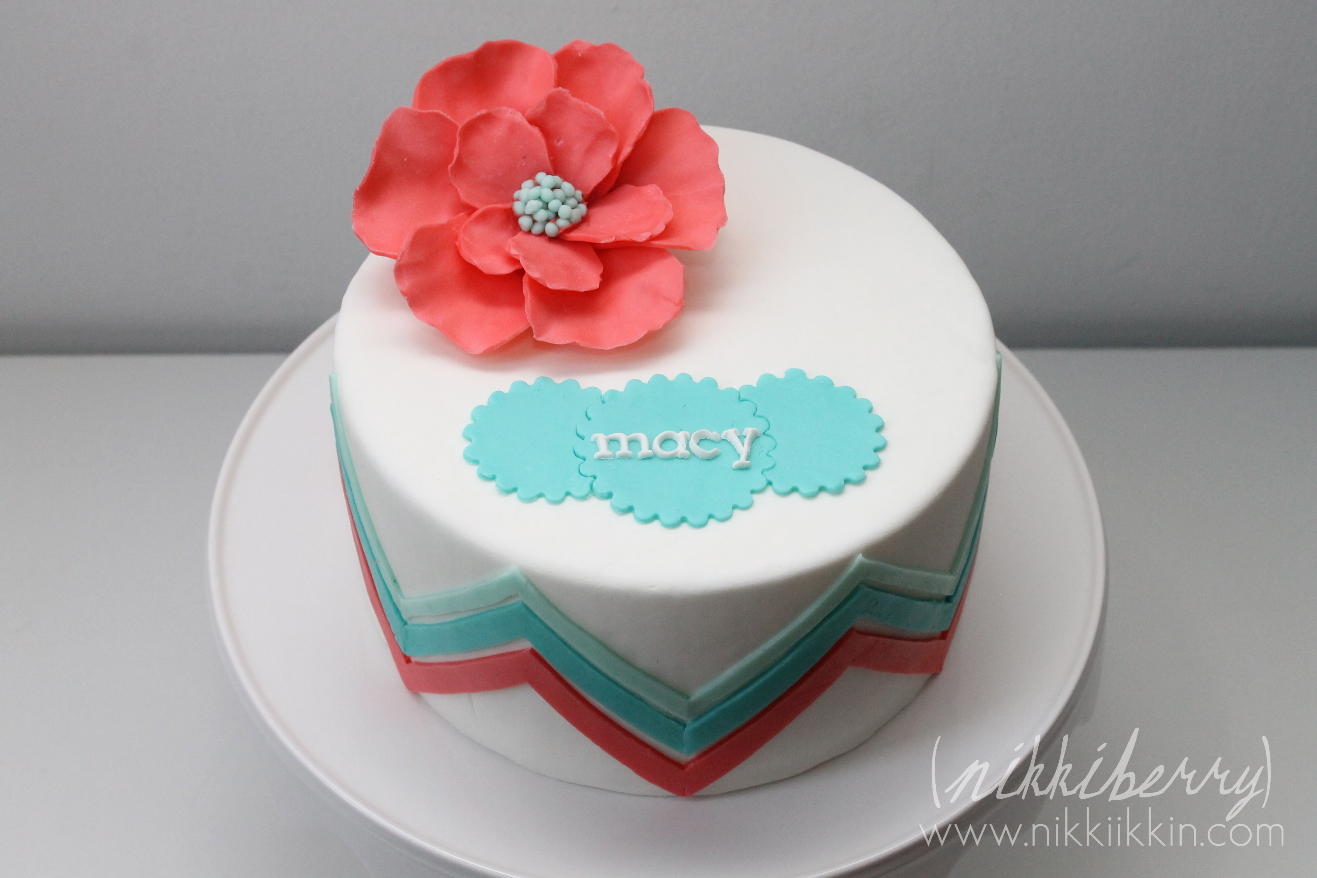 Cake Decorating Zig Zag : Cakes