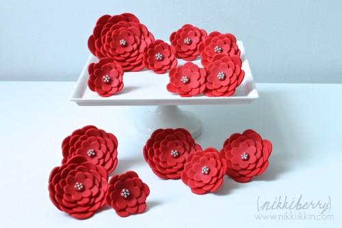 nikkiikkin cake flowers 1