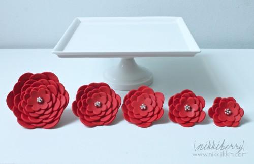 nikkiikkin cake flowers 2