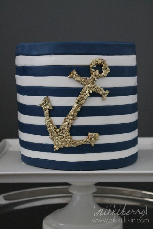 nikkiikkin nautical cake 1