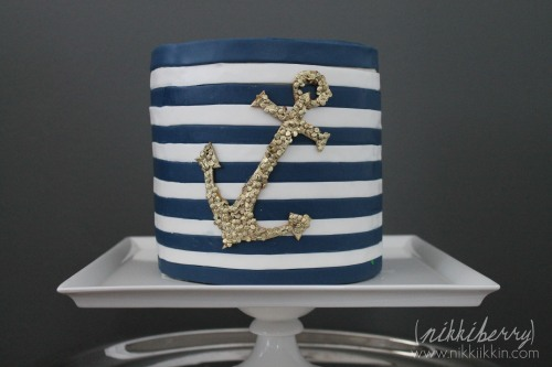 nikkiikkin nautical cake 2