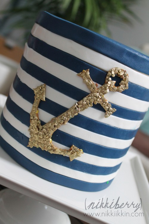 nikkiikkin nautical cake 3