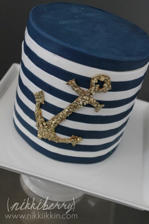 nikkiikkin nautical cake 4