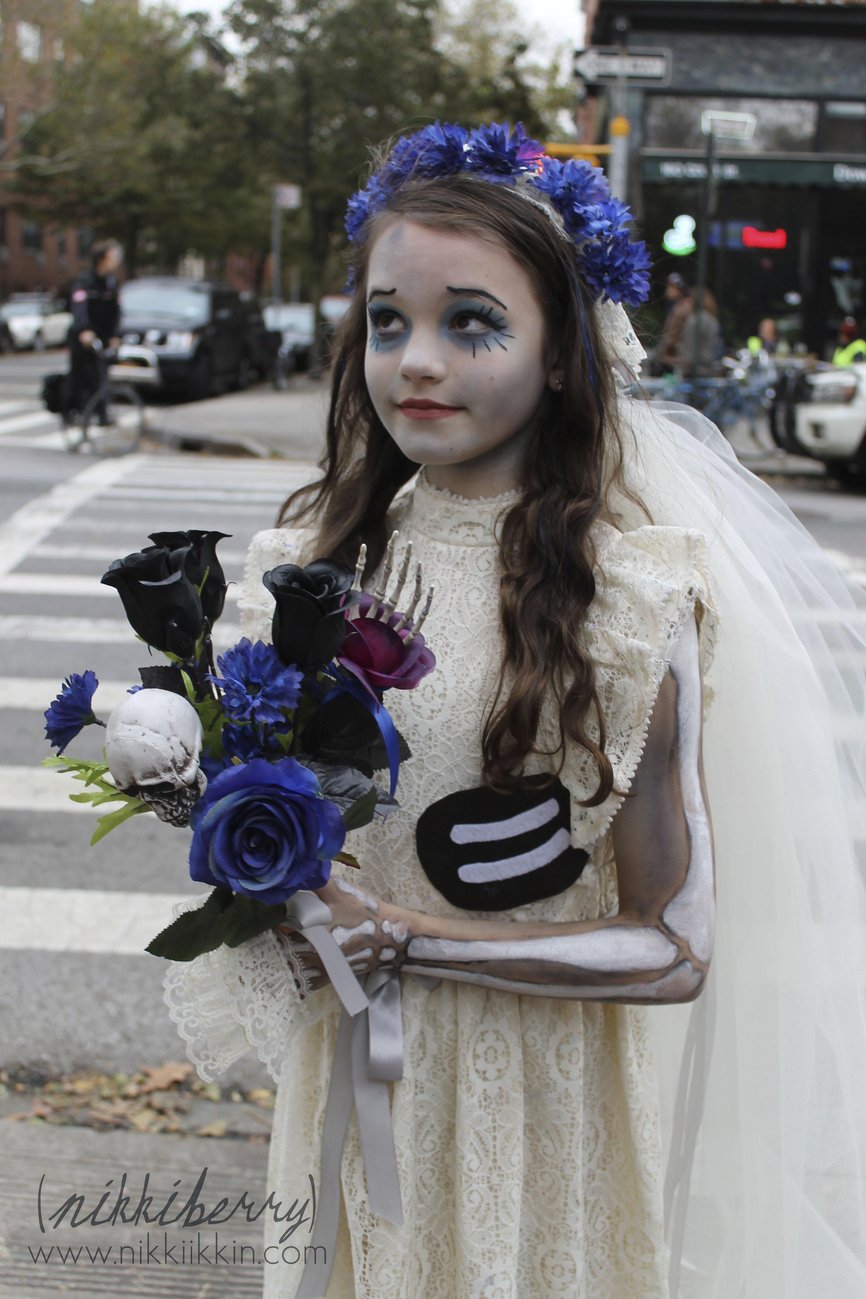 nikkiikkin corpse bride costume 2  sc 1 st  Nikkiikkin & Corpse Bride Costume |