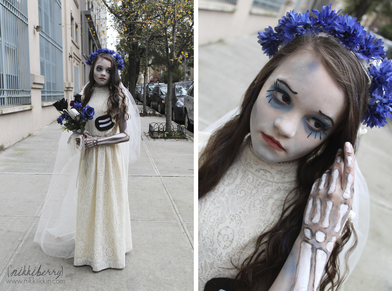 Corpse bride costume diy fashion 98