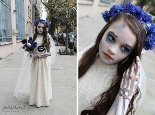 nikkiikkin corpse bride costume 3