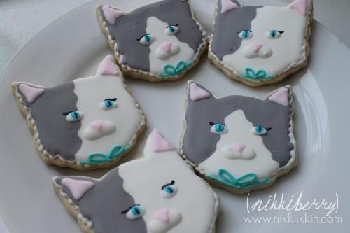 nikkiikkin cat cookie